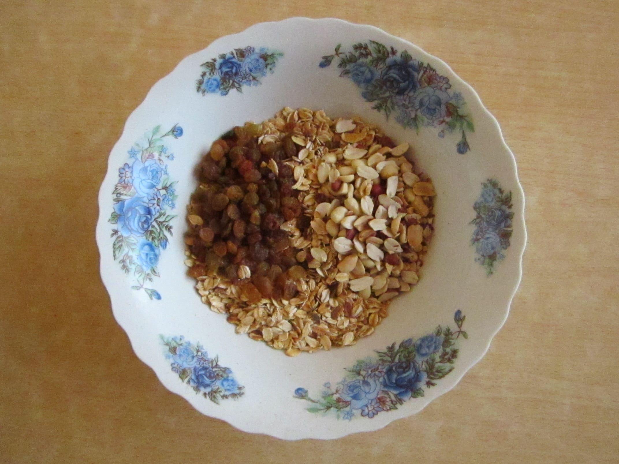 Рецепт домашних мюслей