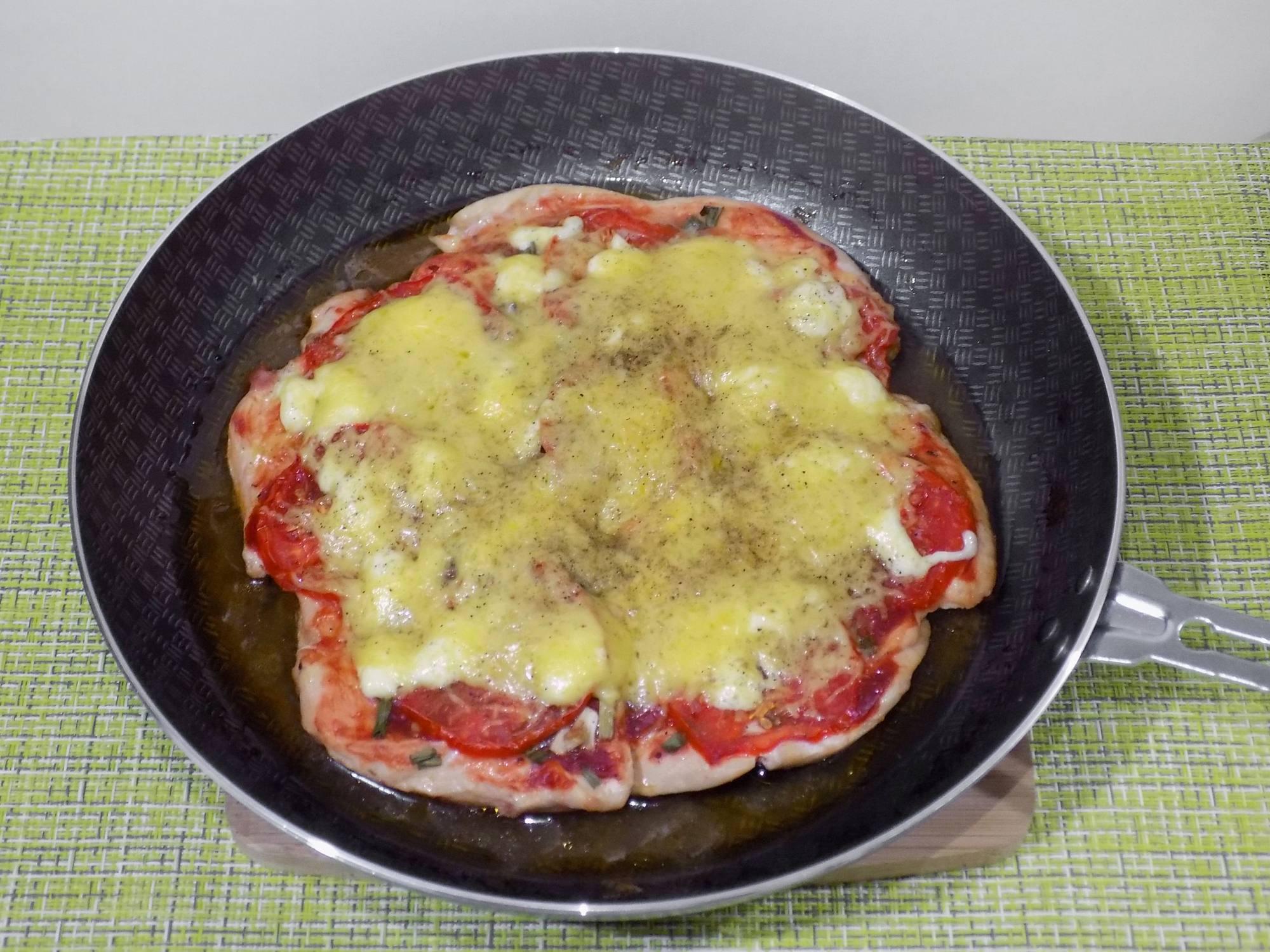 Рецепт пп пиццы