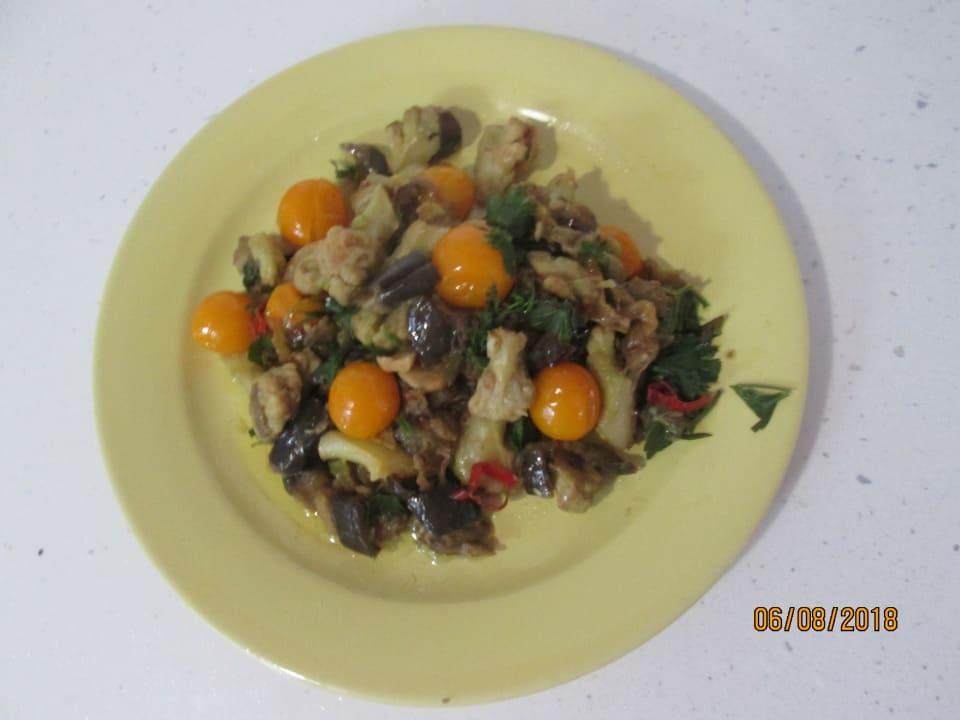 Закуска из цветной капусты