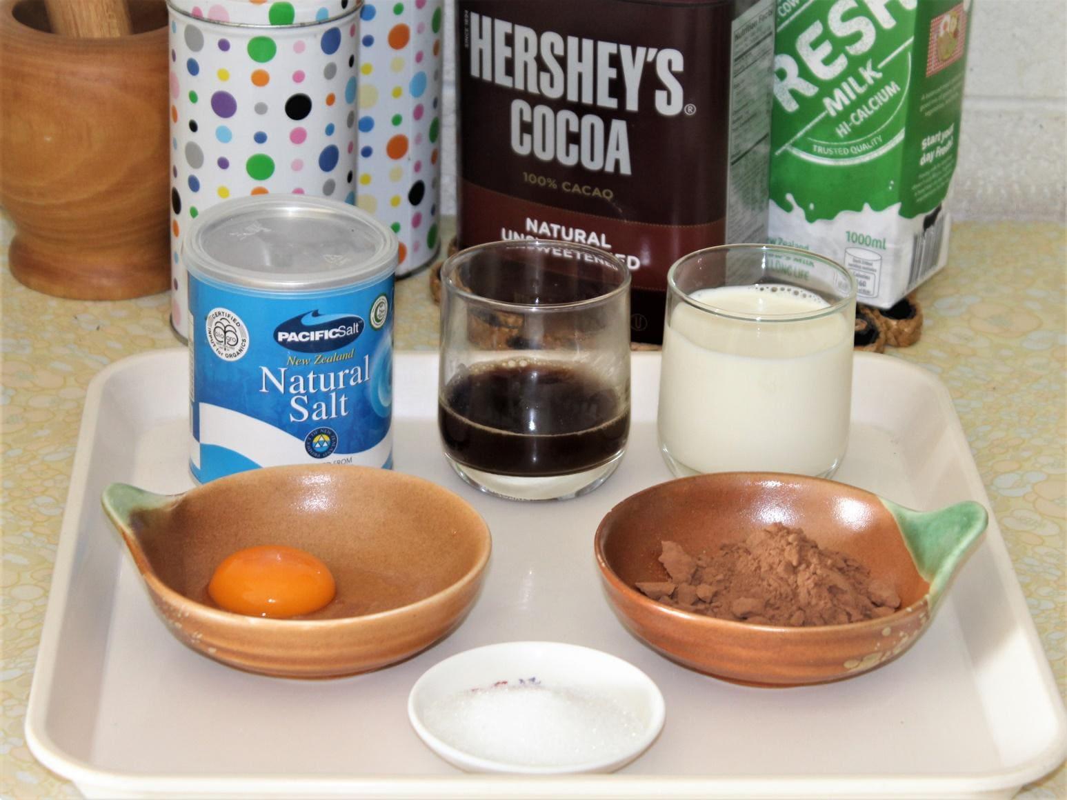 Продукты для горячего шоколада