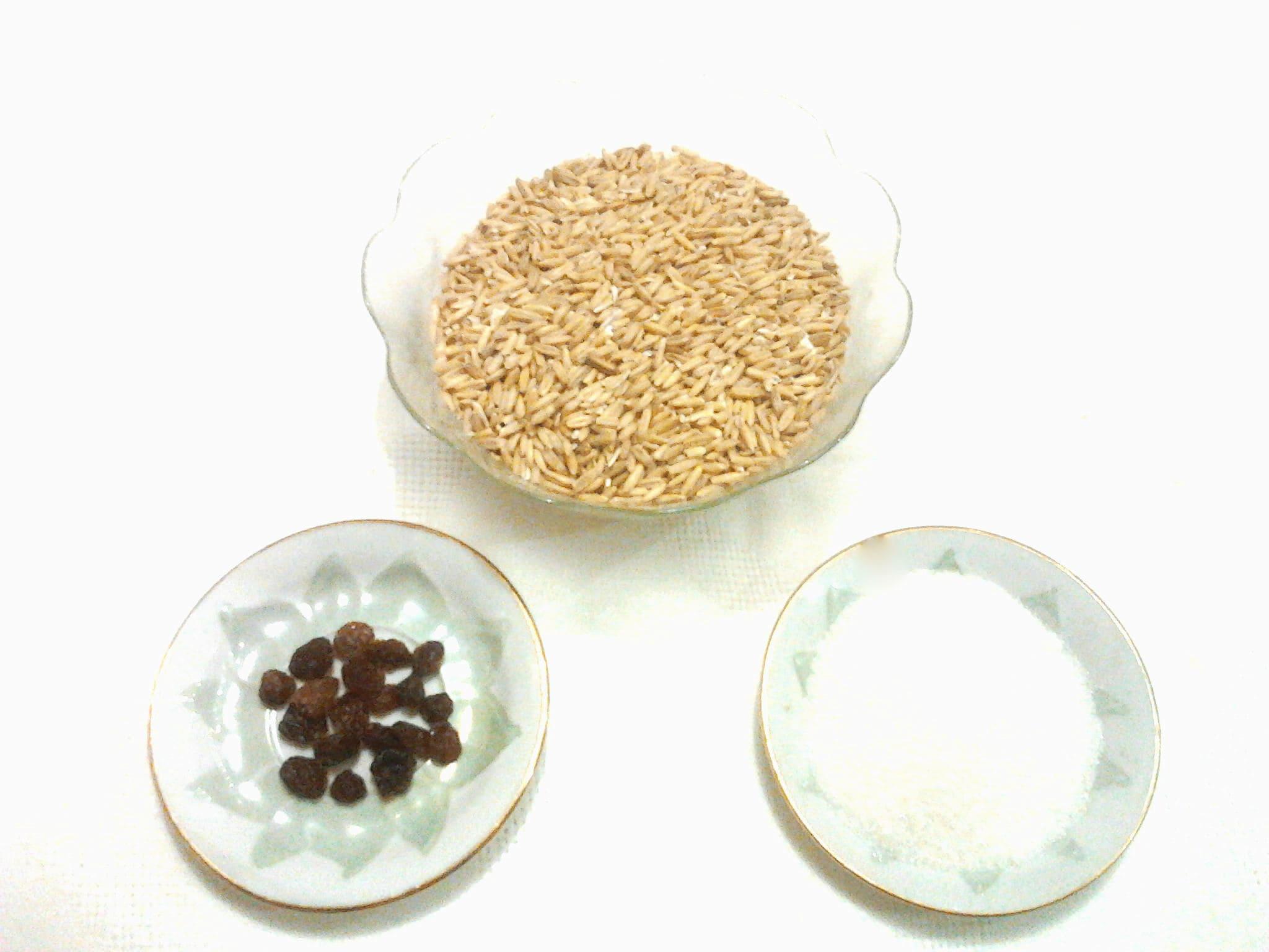 Ингредиенты для овсяного кваса