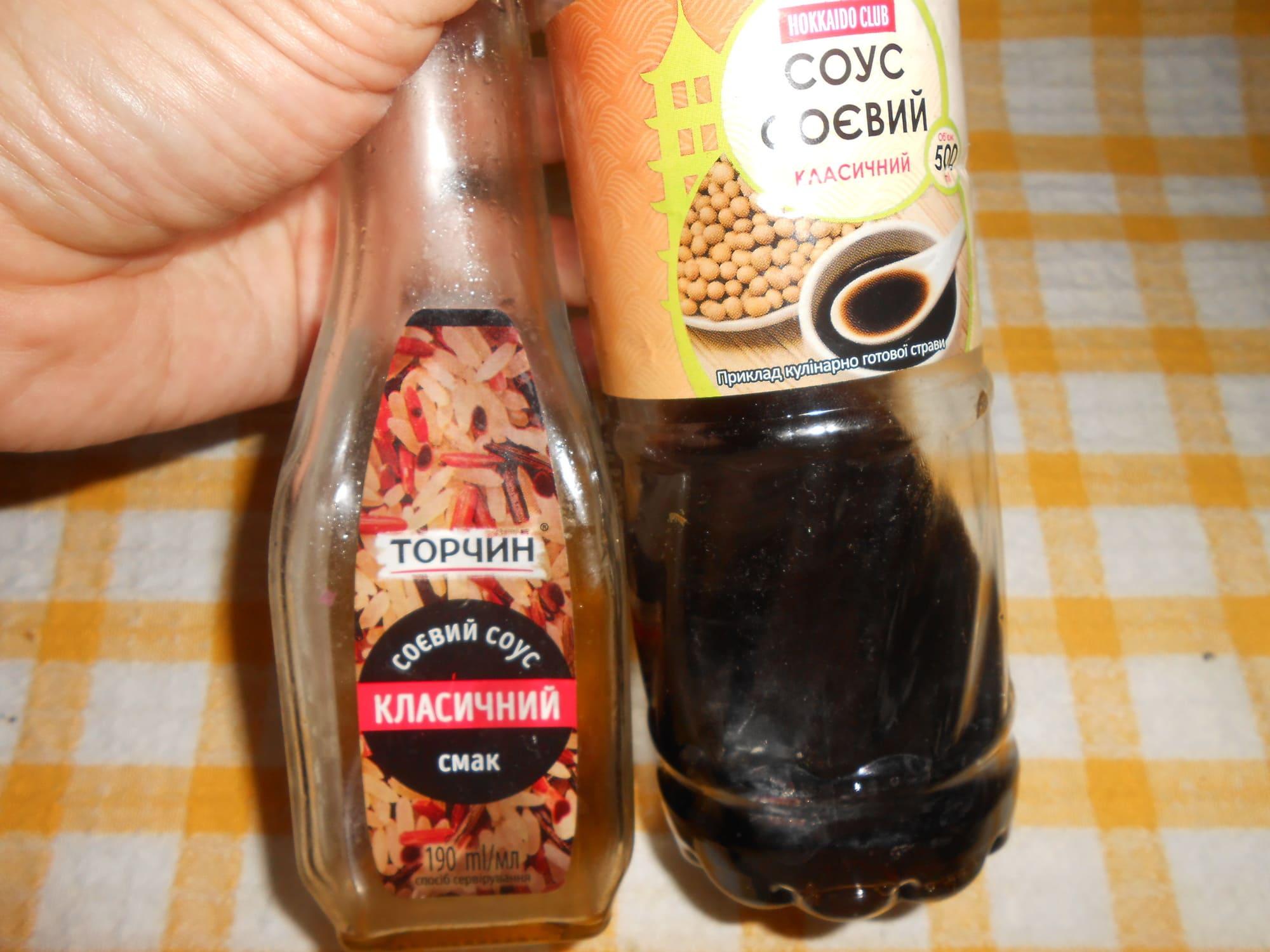 Соевый соус для маринада