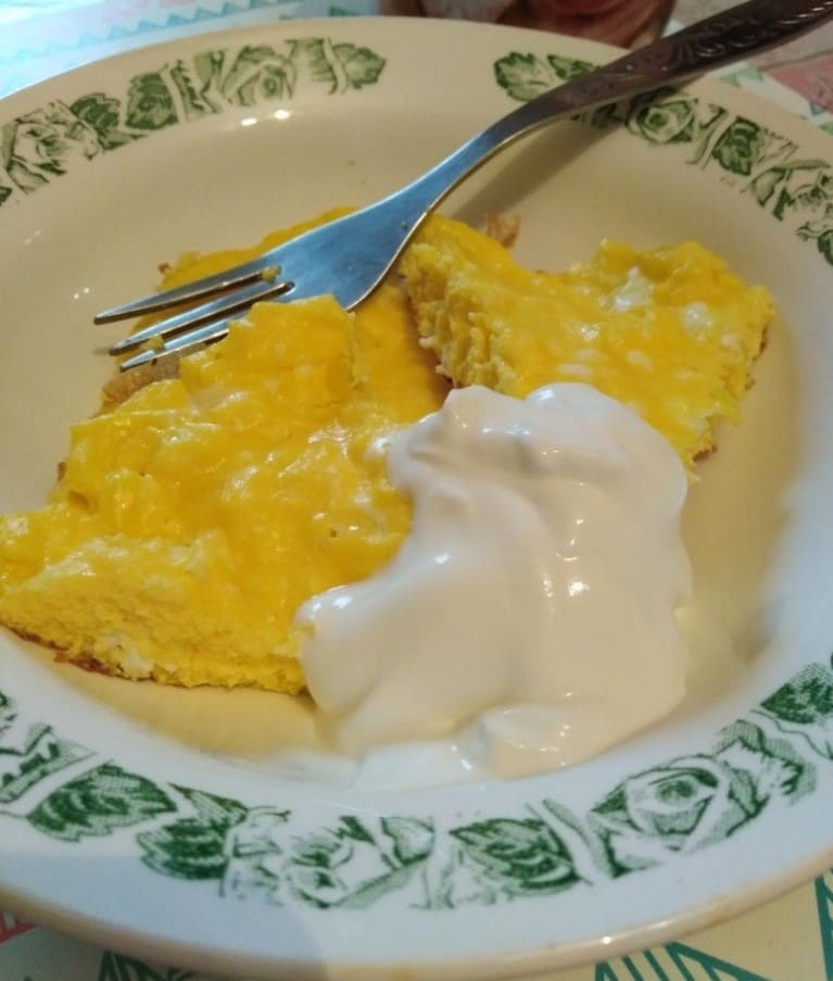 Омлет на завтрак