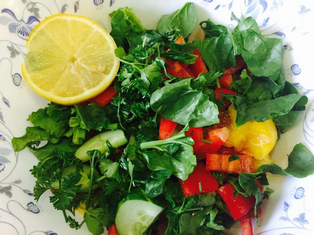 Овощной салат для обеда